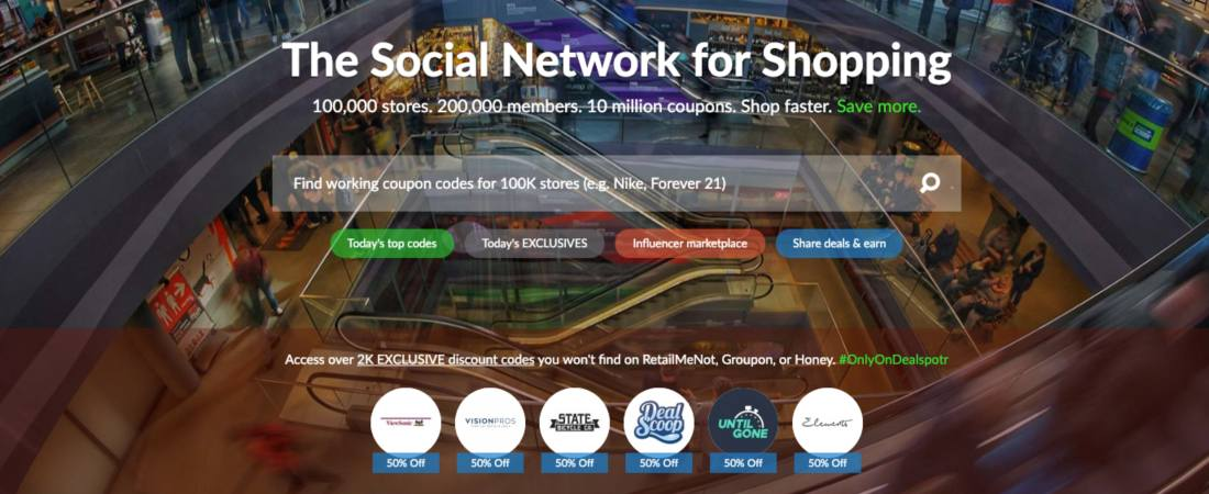 The Social Network for Shopping
