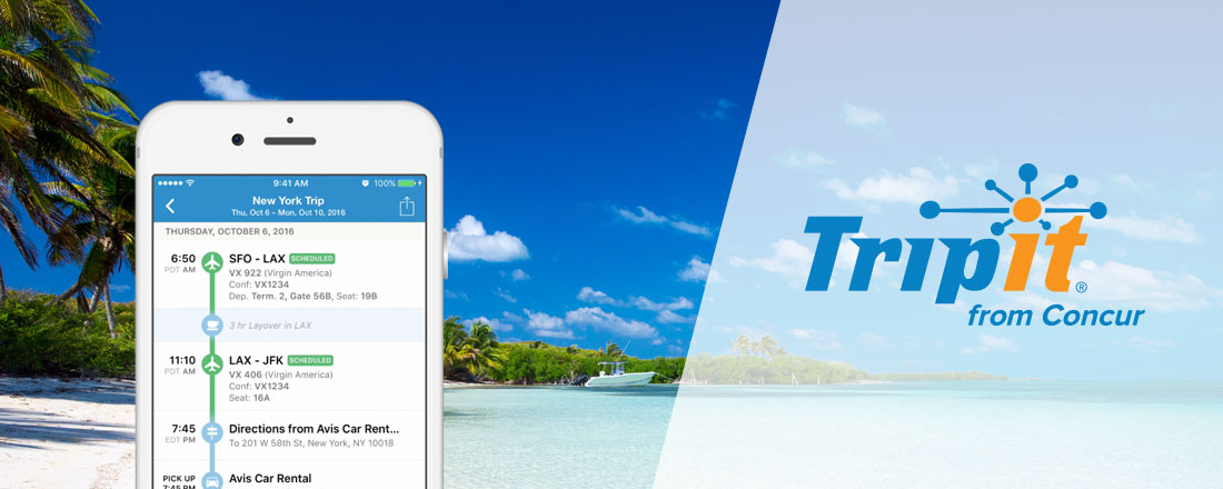 Make Frequent Travel Easier with TripIt