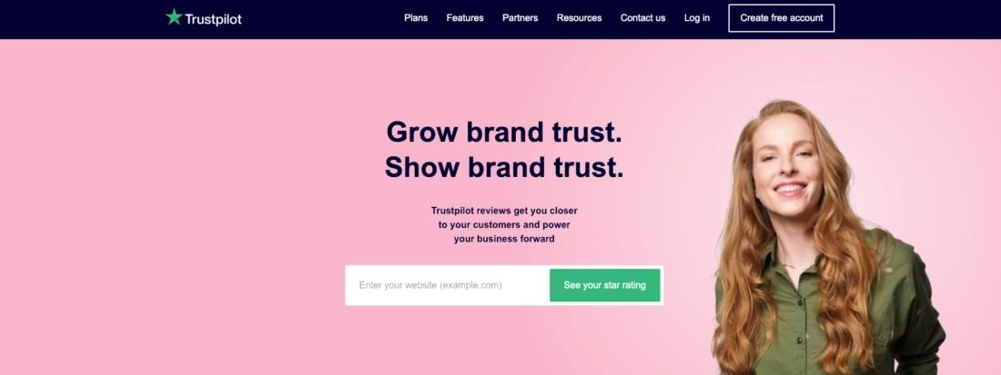 Grow brand trust