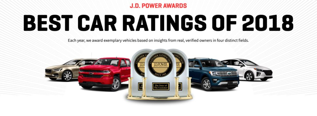 BEST CAR RATINGS OF 2018