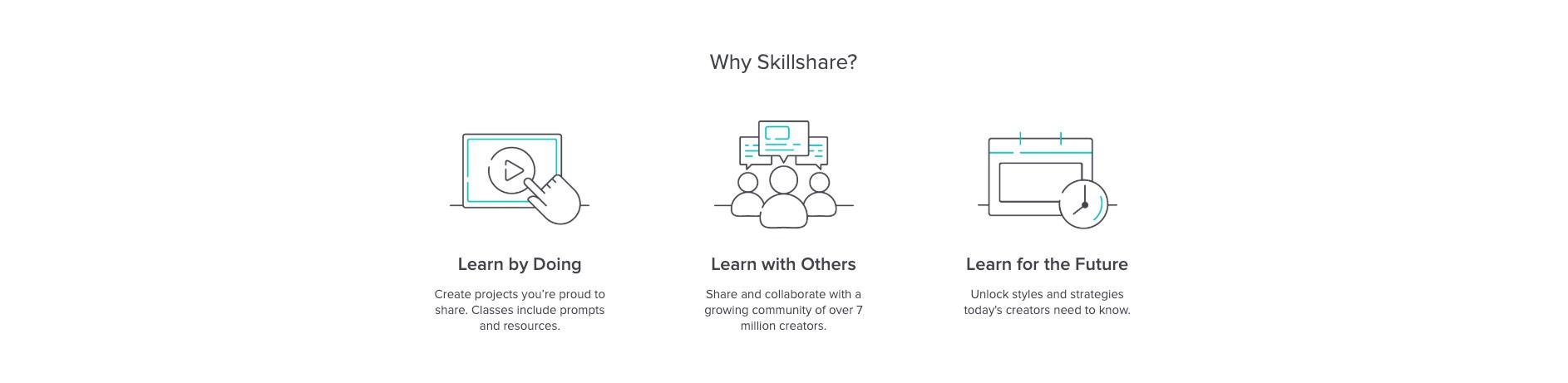 Why Skillshare?