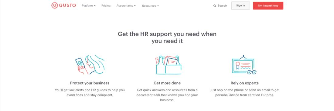 Get the HR support you need when you need it
