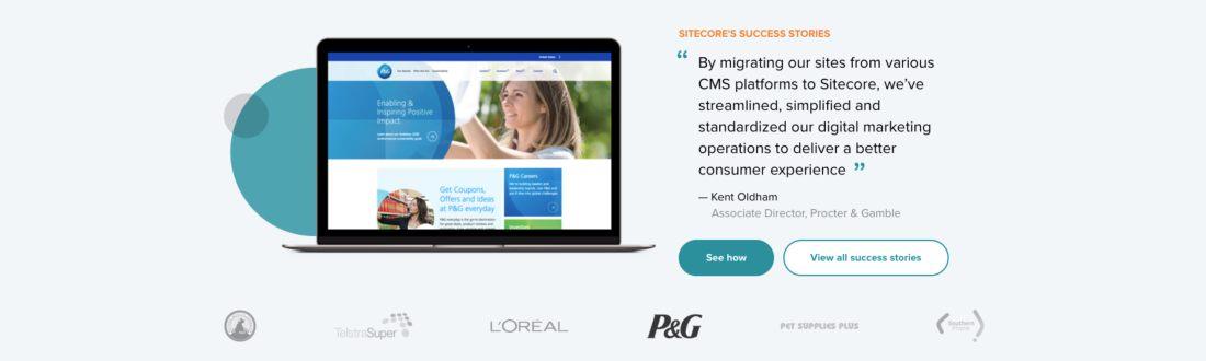 Sitecore's digital experience platform