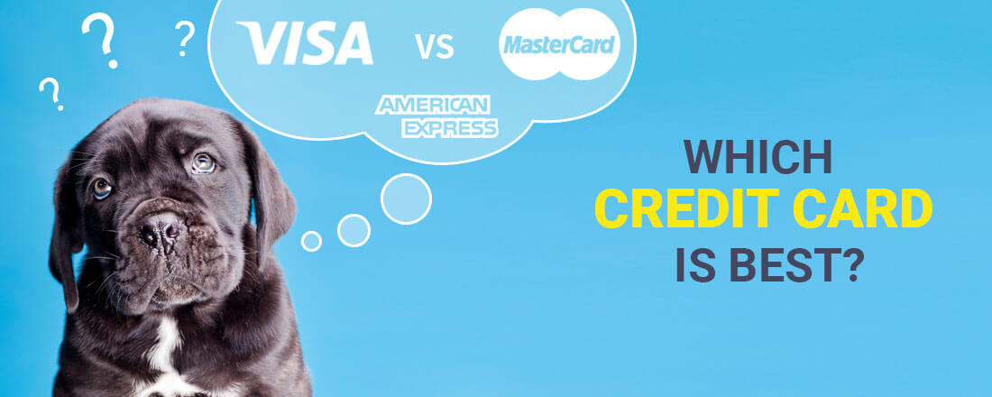 Visa vs. Mastercard? Amex vs. Visa? Which Credit Card is best?