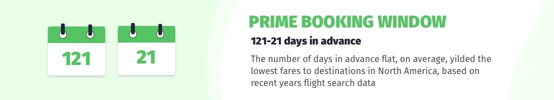prime booking period as below
