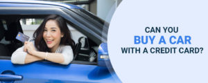 Buy Car with Credit Card