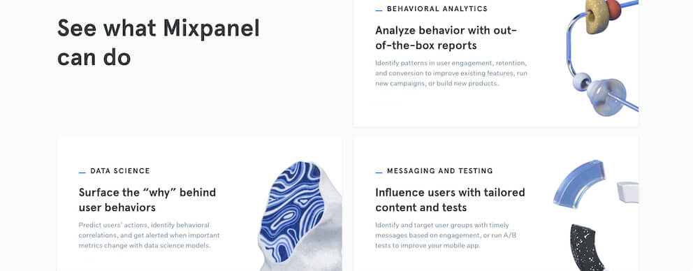 Behavior analytics, data science, messaging and testing