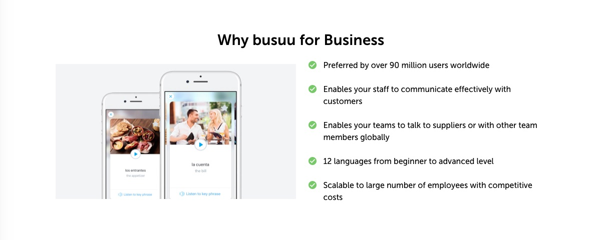 Busuu for business