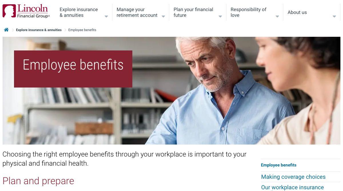 LFG employee benefits