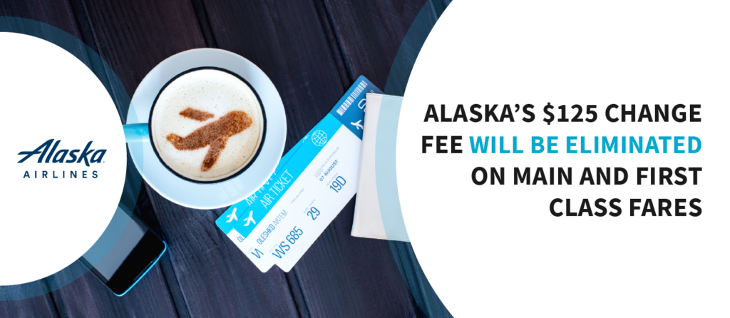 Alaska eliminates change fees permanently