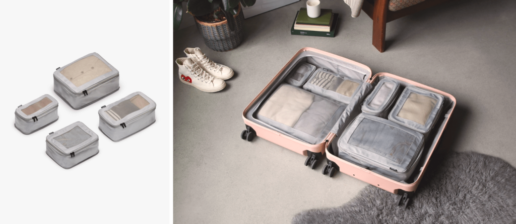 Pictures of Packing Cubes